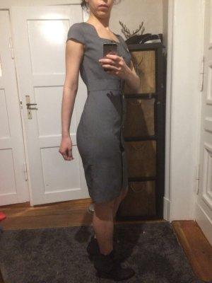 Calvin Klein Robe mi-longue gris foncé-gris
