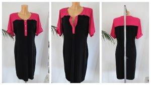 Calvin Klein Kleid Gr. 38-42 schwarz/pink/gold