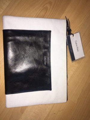 Calvin Klein Minibolso blanco-negro