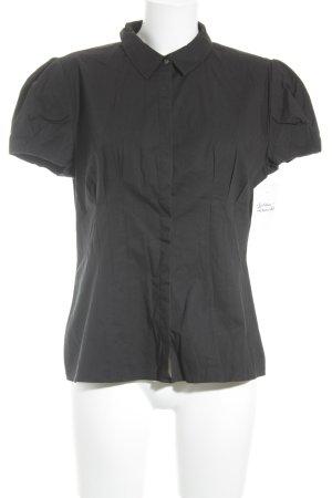 Calvin Klein Kurzarmhemd schwarz Business-Look