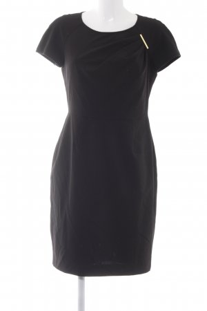Calvin Klein Kurzarmkleid schwarz Elegant