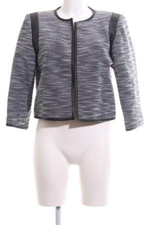 Calvin Klein Kurzjacke schwarz-weiß meliert Casual-Look