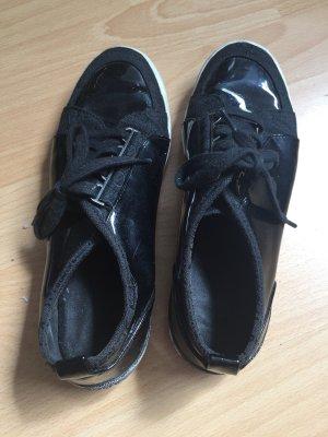 Calvin Klein Lace-Up Sneaker black-white
