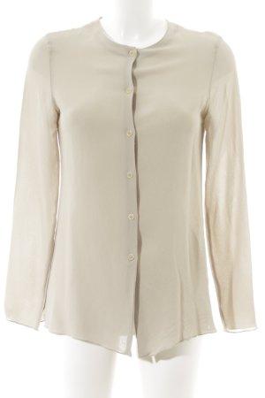 Calvin Klein Langarm-Bluse beige Business-Look