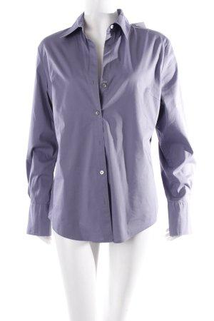 Calvin Klein Langarm-Bluse grauviolett