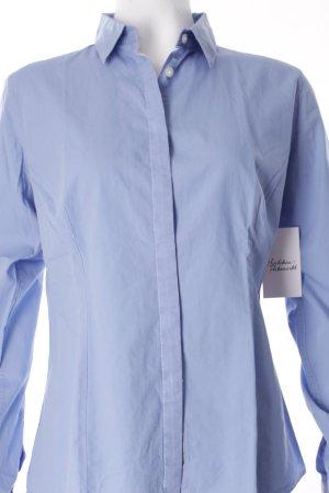 Calvin Klein Langarm-Bluse himmelblau Business-Look