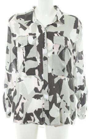 Calvin Klein Langarmhemd Camouflagemuster Military-Look