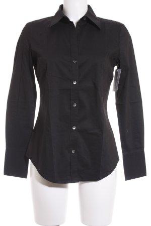 Calvin Klein Langarmhemd schwarz Casual-Look
