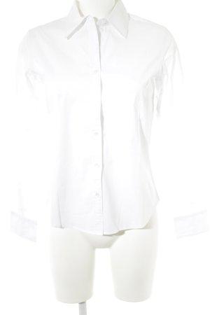 Calvin Klein Langarmhemd weiß Elegant