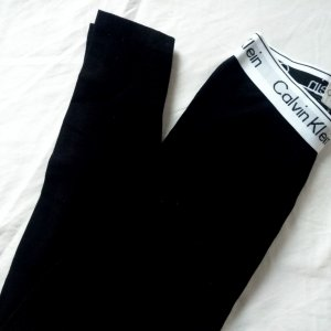 Calvin Klein Leggings schwarz XS Hose
