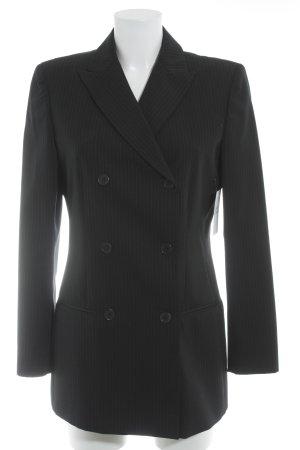 Calvin Klein Long-Blazer dunkelblau Nadelstreifen Business-Look