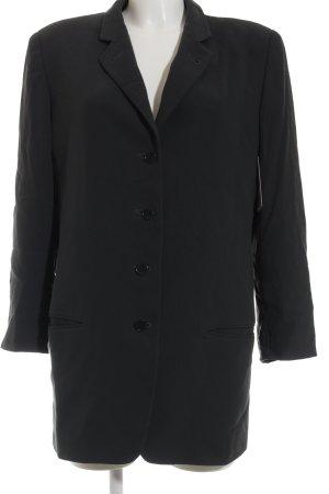 Calvin Klein Long-Blazer schwarz Business-Look