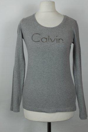 Calvin Klein Longsleeve Gr. S grau