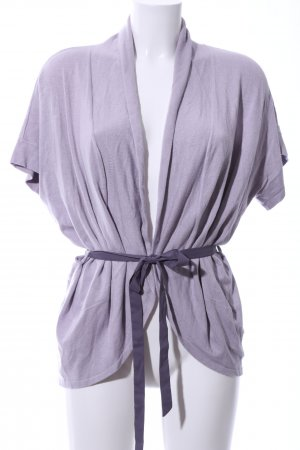 Calvin Klein Long Knitted Vest lilac casual look