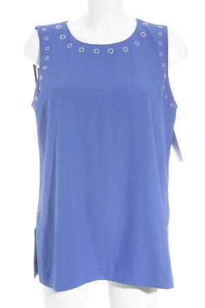 Calvin Klein Longtop blau-silberfarben Elegant