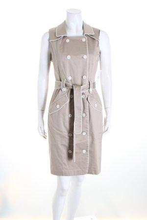 Calvin Klein Mantelkleid beige-hellbeige Business-Look