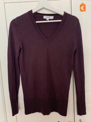 Calvin Klein Wool Sweater dark violet