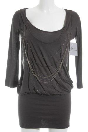 Calvin Klein Minikleid grau-silberfarben Casual-Look