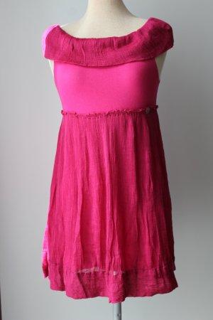 Calvin Klein Minikleid pink Gr. 12 Baumwolle