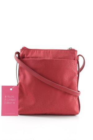 Calvin Klein Minitasche rot Schriftzug gedruckt Casual-Look