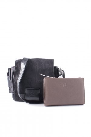 Calvin Klein Minitasche schwarz schlichter Stil