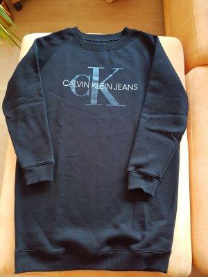 Calvin KleinMonogram Sweatshirt Dress NEU,schwarz