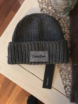 Calvin Klein Cappello a maglia grigio