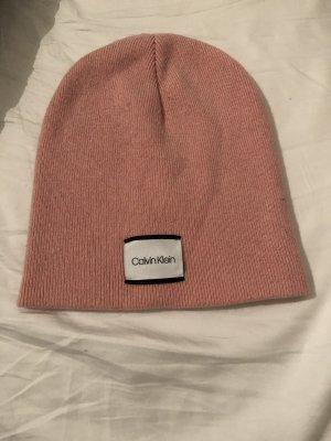 Calvin Klein Gebreide Muts roze