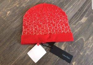 Calvin Klein Mütze rot