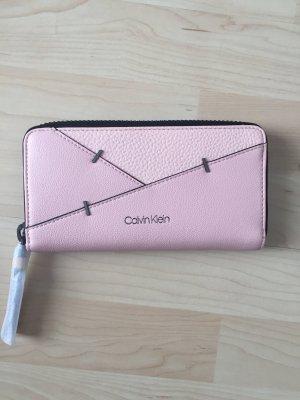 Calvin Klein Portemonnee rosé-lichtroze Leer
