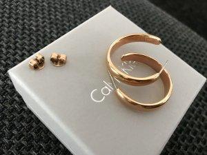 Calvin Klein Gouden oorbellen goud
