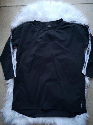 Calvin Klein Oversized Shirt Svhwarz/Weiß Gr L