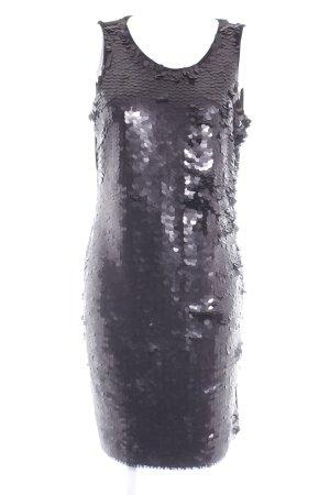 Calvin Klein Pailettenkleid schwarz Party-Look