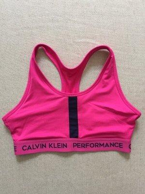 Calvin Klein Performance CK pinker Sport Bra BH leichter Halt