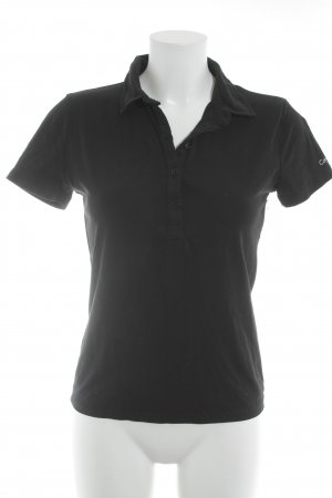 Calvin Klein Polo-Shirt schwarz Casual-Look