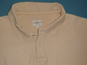 """""""CALVIN KLEIN""""-Poloshirt, L, ( 42) nude"""