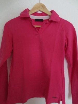 Calvin Klein Poloshirt, pink, Gr. 34