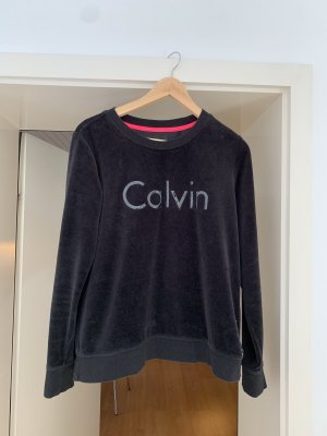 Calvin Klein Fleece Jumper black