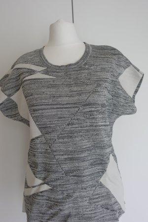 Calvin Klein Blouse grey-light grey viscose