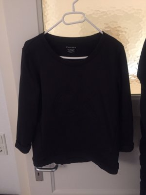 Calvin Klein Pull à manches courtes noir
