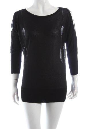 Calvin Klein Pullover schwarz schlichter Stil