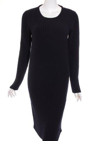 Calvin Klein Sweater Dress dark blue fluffy