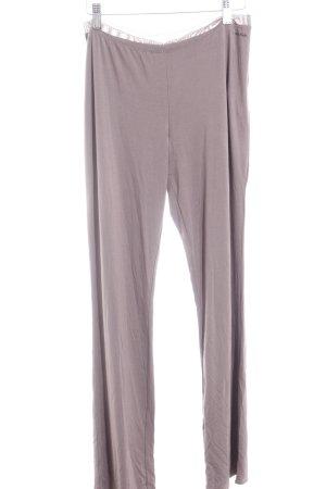 Calvin Klein Pyjama graubraun Logoprint