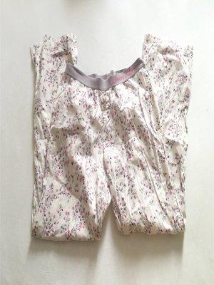 CALVIN KLEIN Pyjama Hose geblümt mit Logo Gr. S