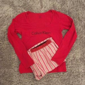 Calvin Klein Pyjama in Rot