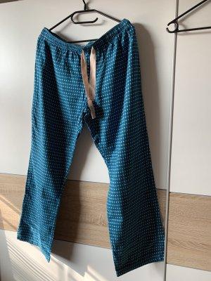 Calvin Klein Pijama azul-blanco