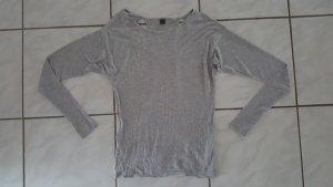 "Calvin Klein raffiniertes Langarmshirt "" grau melange "" Gr. 42 "" wieNEU !!!"