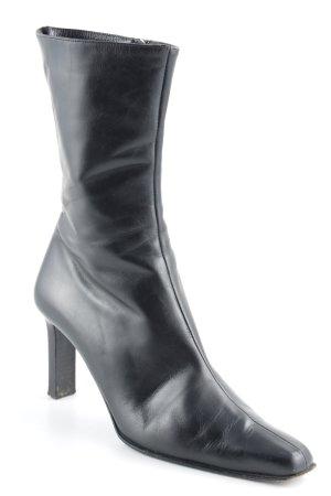 Calvin Klein Reißverschluss-Stiefeletten schwarz klassischer Stil