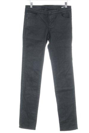 Calvin Klein Pantalón de tubo negro look casual