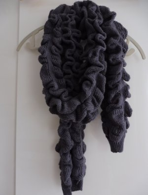 Calvin Klein Knitted Scarf dark grey